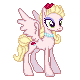 Commish : MLP S2 OC Edition : Rose Pearl by Kevfin