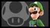 Super Smash Bros Wii U Stamp Series - Luigi by Kevfin