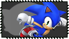 Super Smash Bros Wii U Stamp Series - Sonic by Kevfin