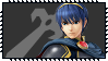 Super Smash Bros Wii U Stamp Series - Marth by Kevfin