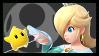 Super Smash Bros Wii U Stamp Series - Rosalina by Kevfin