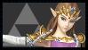 Super Smash Bros Wii U Stamp Series - Zelda by Kevfin