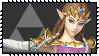 Super Smash Bros Wii U Stamp Series - Zelda by Kevfin