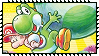 Yoshi New Island Stamp by Kevfin