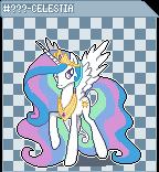 MLP FiM Sprite Series GX 15 - Princess Celestia by Kevfin