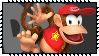 Super Smash Bros Wii U Stamp Series - Diddy Kong by Kevfin