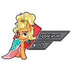MLP FiM Sprite Series GX 17 - Applejewel by Kevfin