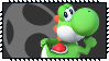 Super Smash Bros Wii U Stamp Series - Yoshi by Kevfin