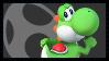 Super Smash Bros Wii U Stamp Series - Yoshi by Kevfin