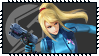 Super Smash Bros Wii U Stamp Series - Zero Suit by Kevfin