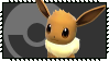 Super Smash Bros - Pokeball Stamp Series - Eevee by Kevfin