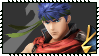 Super Smash Bros Wii U Stamp Series : Ike by Kevfin