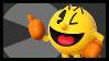 Super Smash Bros Wii U Stamp Series : Pac Man by Kevfin