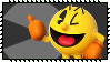 Super Smash Bros Wii U Stamp Series : Pac Man by Kevfin