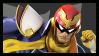 Super Smash Bros Wii U Stamp Series : Capt. Falcon