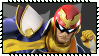 Super Smash Bros Wii U Stamp Series : Capt. Falcon by Kevfin