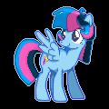 My Little Pony OC Sprite - Neon Streak by Kevfin