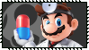 Super Smash Bros Wii U Stamp Series - Dr. Mario by Kevfin