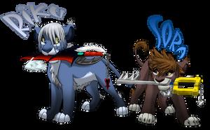 Riku and Sora by Nightrizer