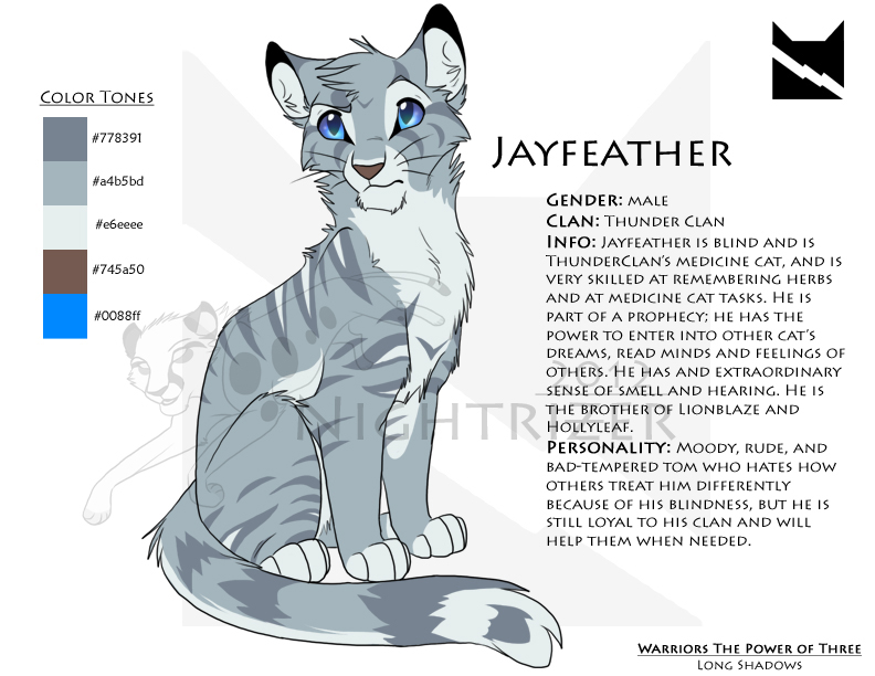 Jayfeather Character Sheet By Nightrizer On DeviantArt