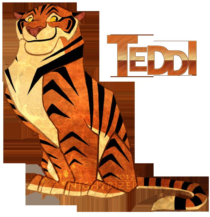 Teddi Teh Tiger by Nightrizer