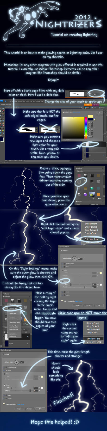 Lightning Tutorial by Nightrizer