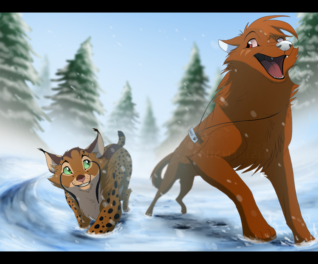 Winter Race by Nightrizer