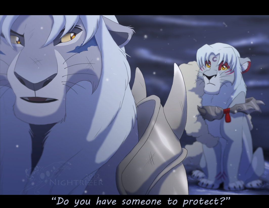 Do you have someone to protect by Nightrizer on DeviantArt