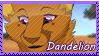 Dandelion Stamp by Nightrizer