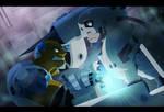 Cyborg vs Andromon