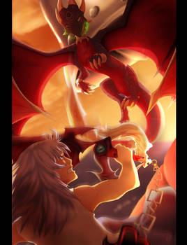 Cynder vs Riku