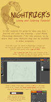 Lining and Coloring Tutorial