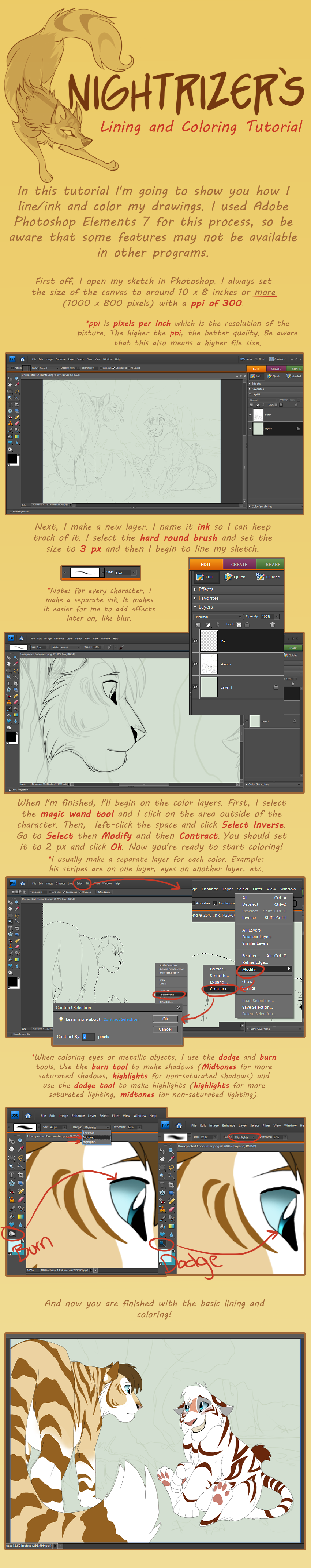 Lining and coloring tutorial by nightrizer on deviantart lining and coloring tutorial by nightrizer lining and coloring tutorial by nightrizer baditri Choice Image