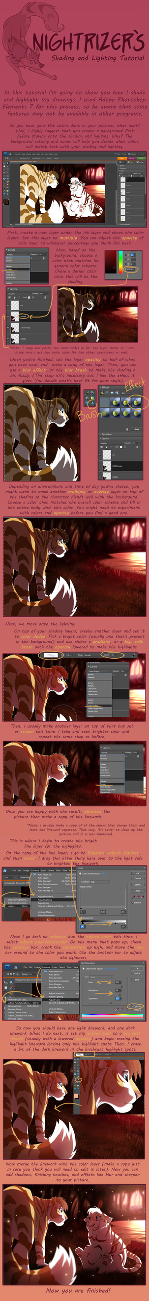 Shading and Lighting Tutorial by Nightrizer
