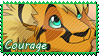 Courage Stamp by Nightrizer