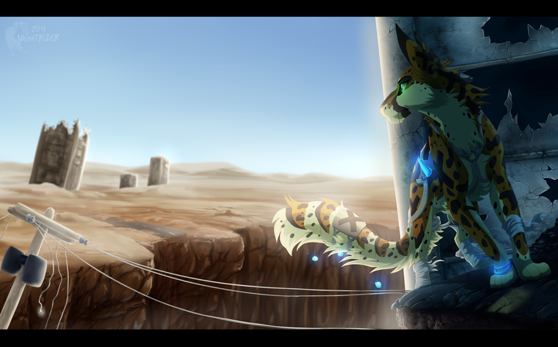 The Unrelenting Wasteland by Nightrizer