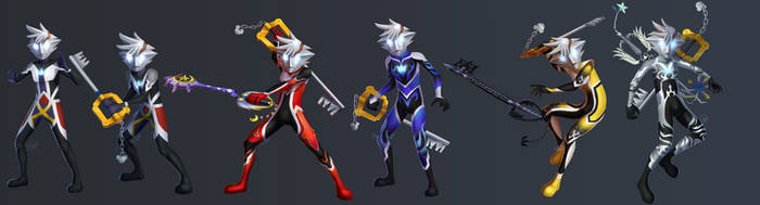 Sora Ultra Forms by Nightrizer