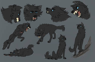 Shadow Sketch Page