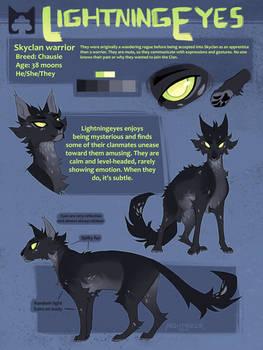 Lightningeyes Reference Sheet
