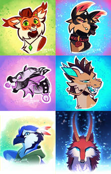 Icons Batch One