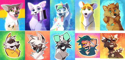 Icons Batch Two by Nightrizer