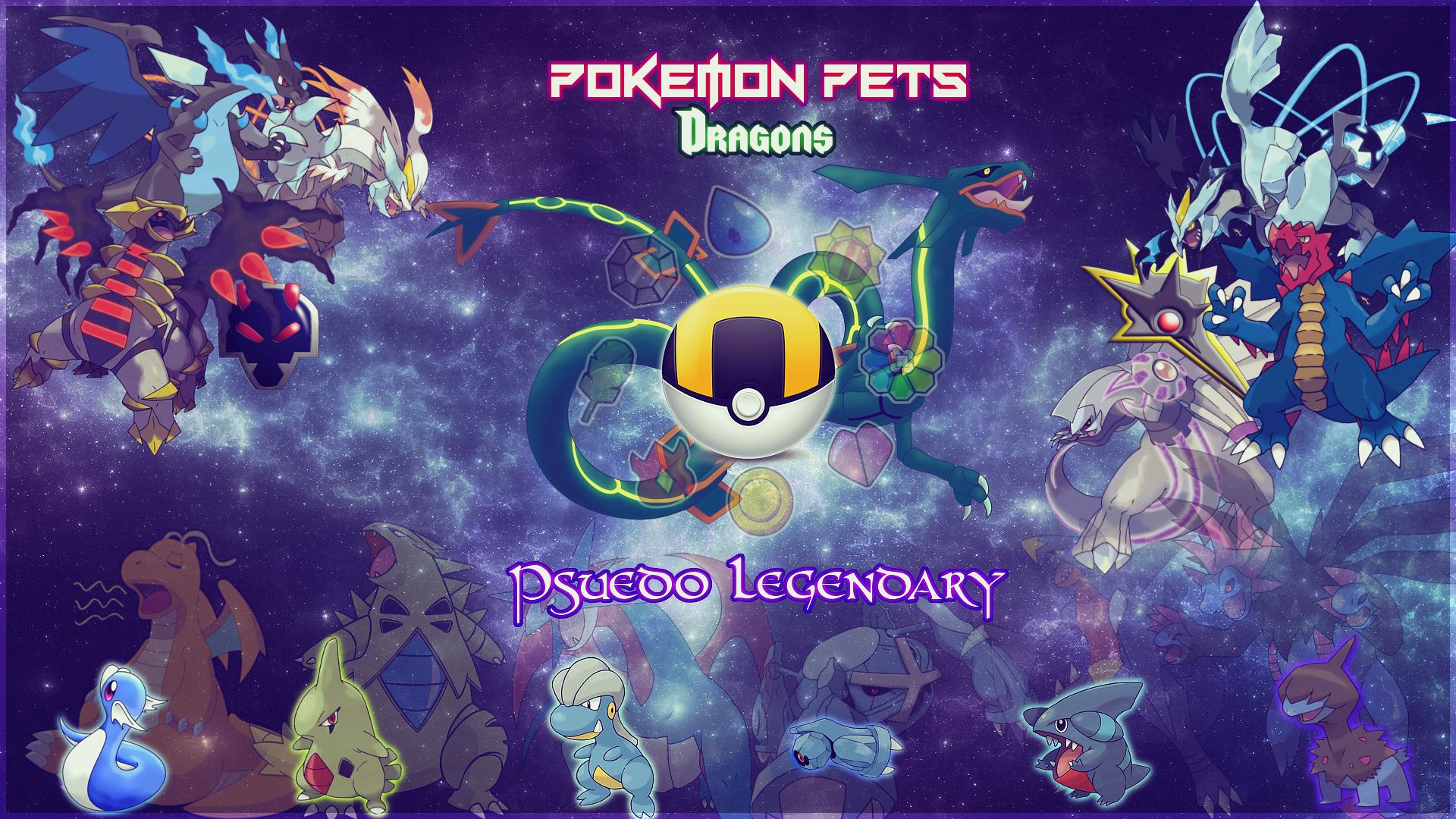 Pokemon Pets Dragon Wallpaper