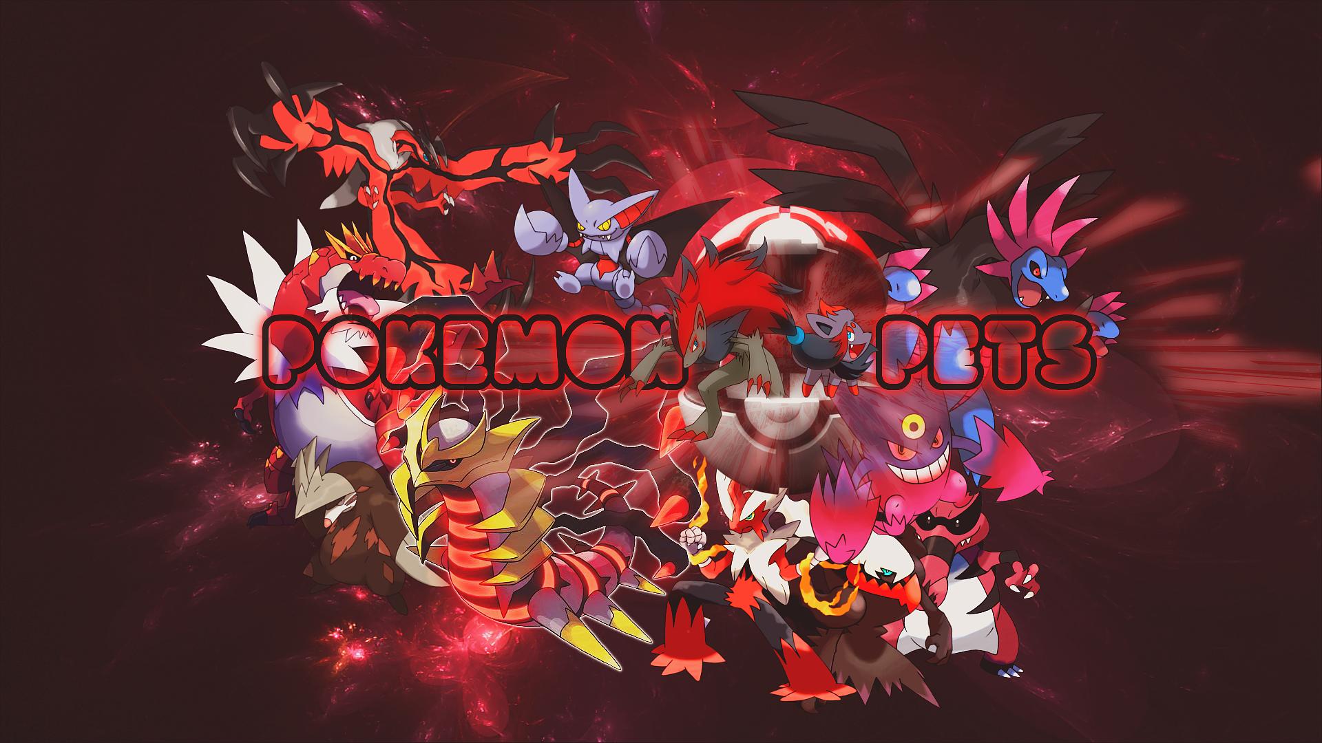 Pokemon Pets Wallpaper