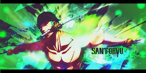 Santoryu! by SparvieroX