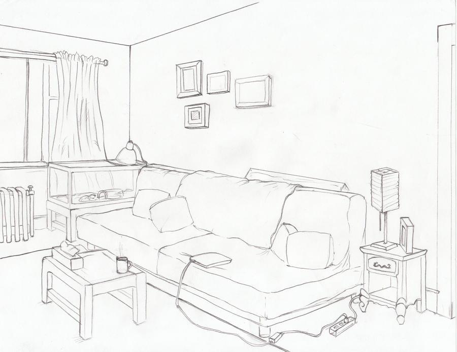 Bedroom Layout Sketch Templates