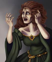 Head and Hands - Lady Macbeth by ayami
