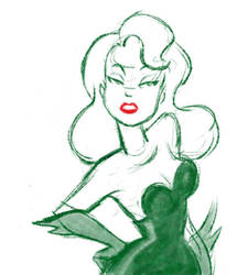 Poison Ivy Warm-Up by ayami