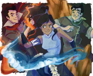 Avatar: The Legend of Korra by ayami