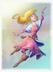 Skyward Sword - Zelda by ayami