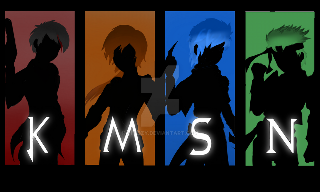 Team Rwby Poster By - 0425
